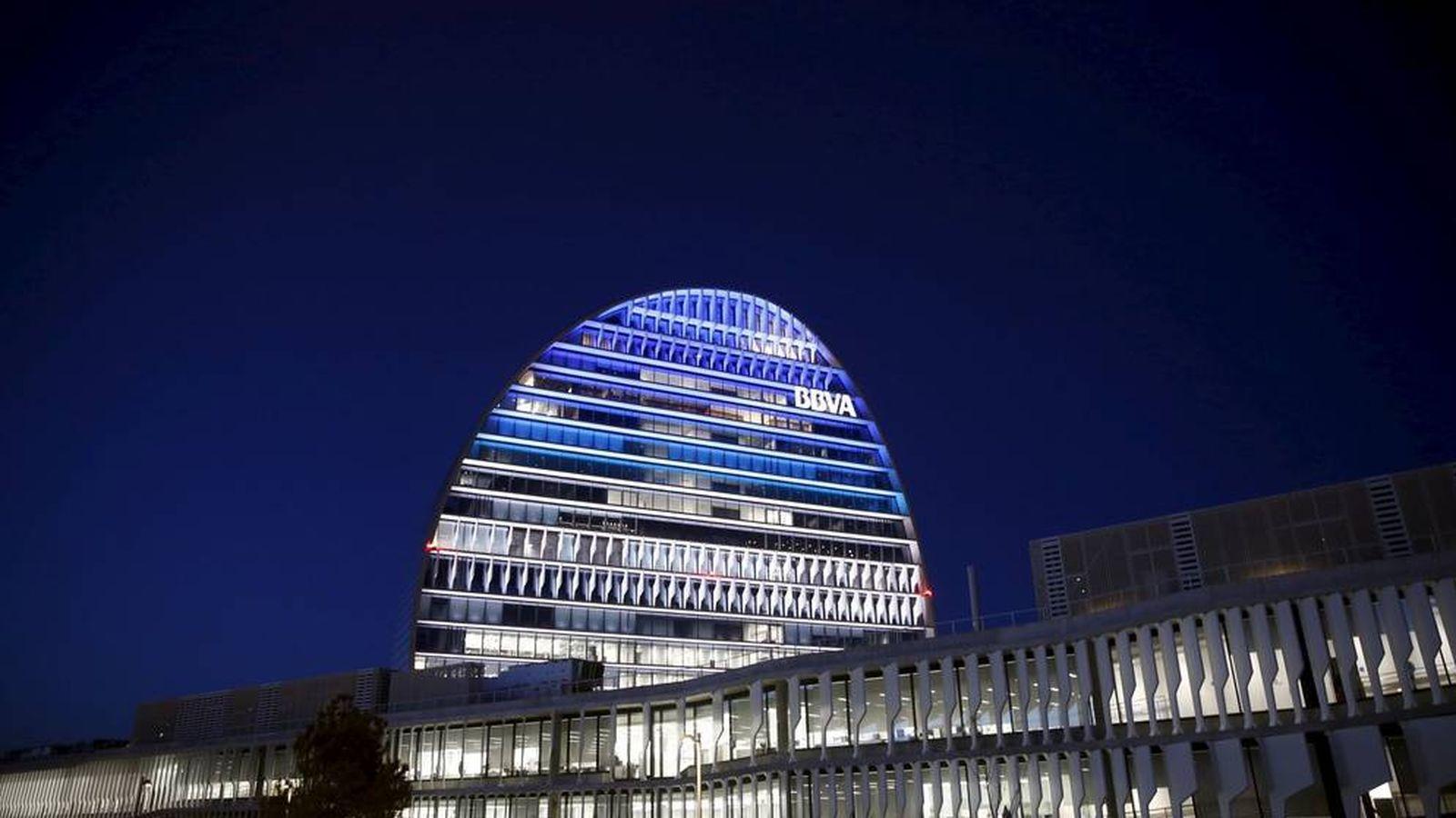Foto: Oficinas de BBVA en Madrid. (Reuters)
