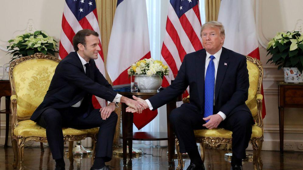 Foto: Macron y Trump (reuters)