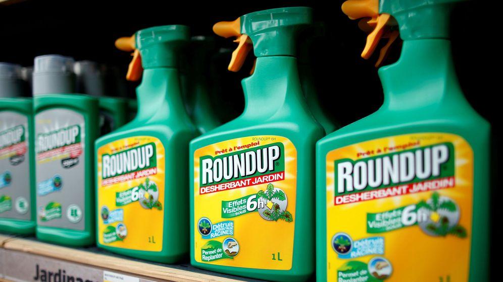 Foto: Botes de Roundup en un supermercado (Reuters)