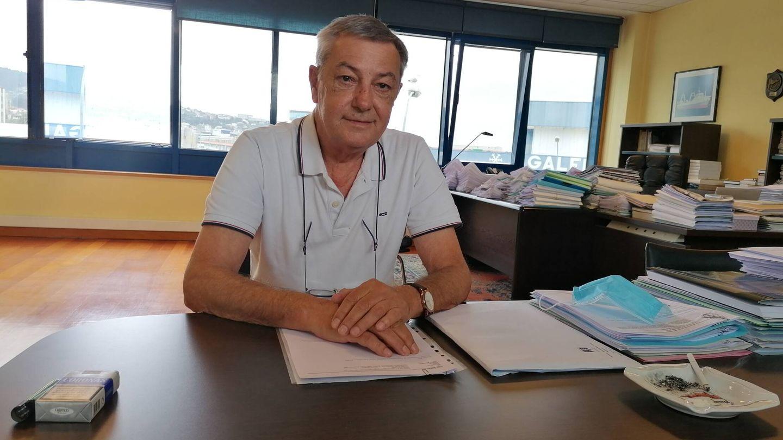 El presidente de Pesmar SA, Álvaro Martínez Riva. (Lino Vargas)