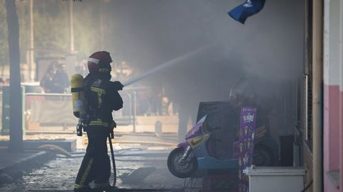 Cuatro fallecidos, incluido un bebé, en el incendio de un edificio en Bilbao