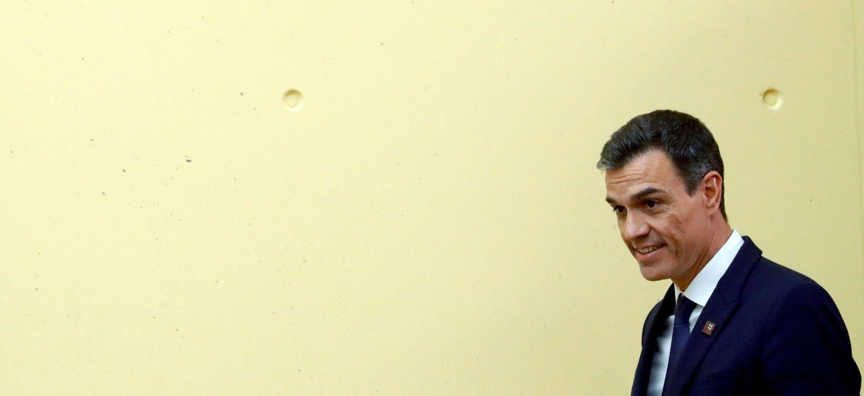 Foto: Pedro Sánchez, este 20 de septiembre en Salzburgo, Austria, tras la cumbre informal europea. (EFE)