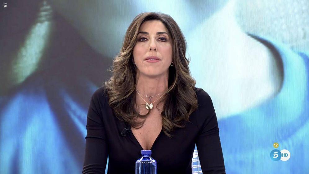 Foto: La presentadora Paz Padilla. (Mediaset)