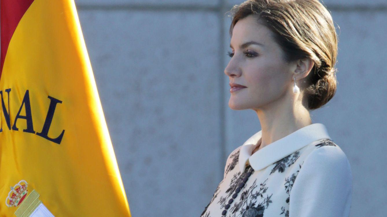 Foto: La Reina durante un acto celebrado en Ávila (Gtres)