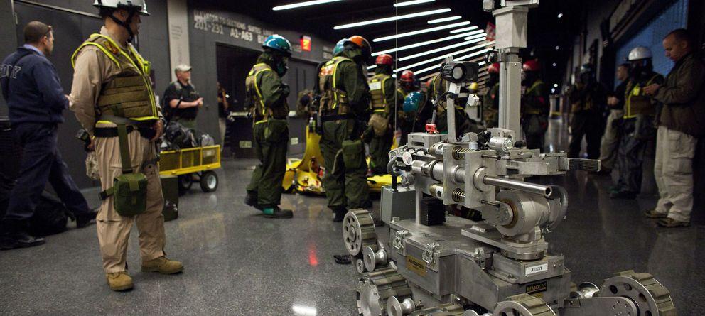 Foto: La carrera armamentística se ha orientado hacia el campo de la robótica. (Reuters)