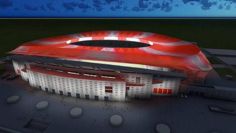 El Wanda Metropolitano competirá con Bakú por la final de la Champions 2019