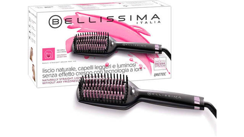 Cepillo alisador de pelo Imetec Bellissima Magic Straight Brush PB5 100