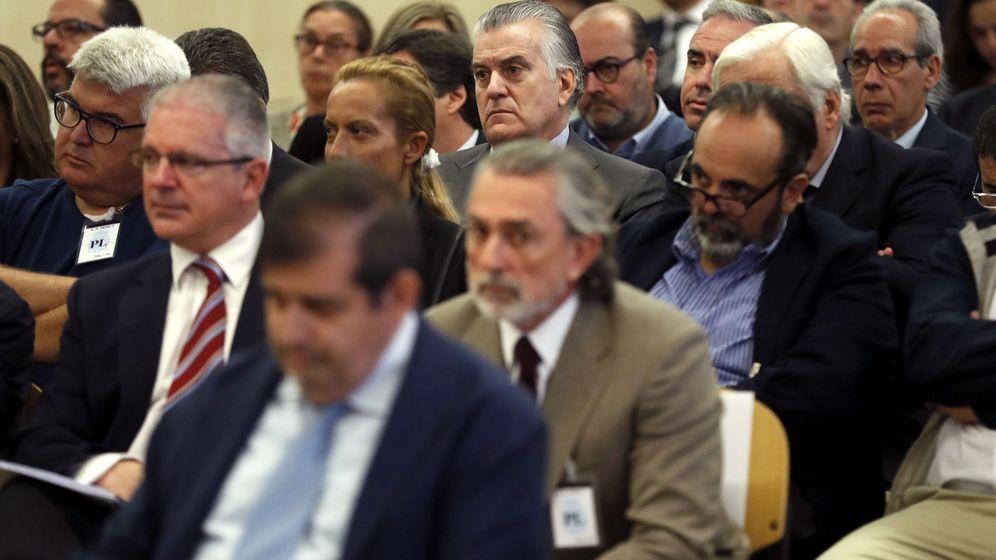 Foto: Comienza el juicio de la trama Gürtel: Bárcenas, Correa y otros acusados llegan a la AN