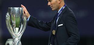 Post de A Zidane no le hace falta la palabrería de Mourinho para llenar de copas al Madrid