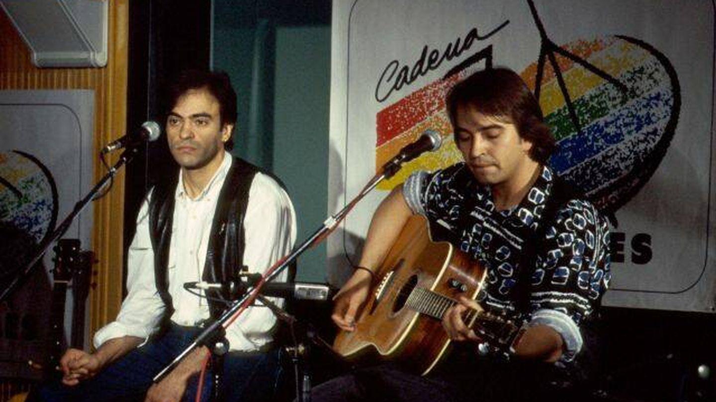Enrique y Álvaro Urquijo en un concierto de los 40 Principales (LOS40)