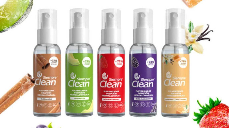 Sprays hidroalcólicos de Siempre Clean.