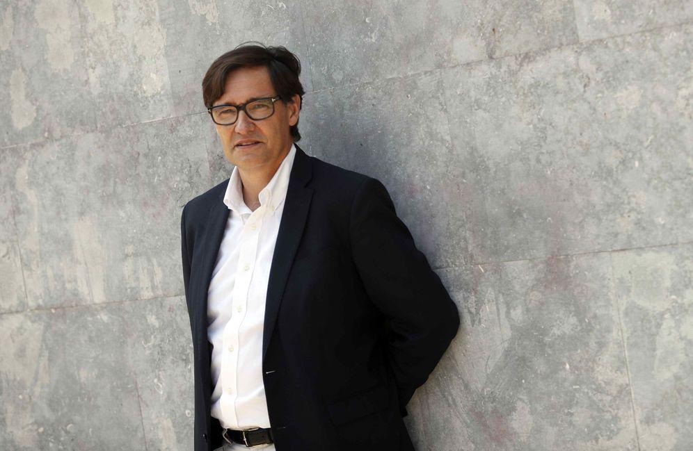 Foto: Salvador Illa, secretario de Organización del PSC y nuevo ministro de Sanidad, el 26 de agosto de 2018 en Barcelona. (EFE)
