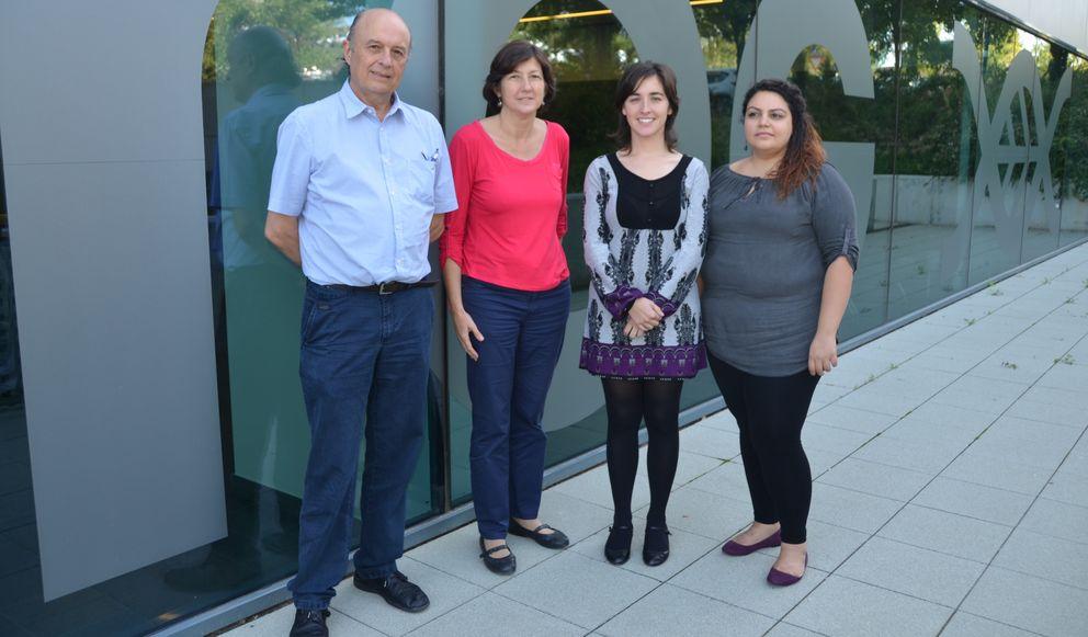 Foto: El equipo de la bióloga Amparo Monfort (la segunda por la izquierda).