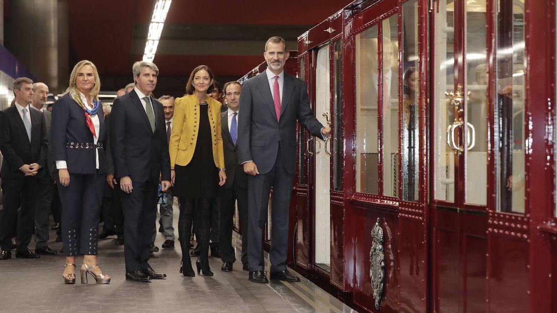 Siete vigilantes para blindar el tren de Alfonso XIII de la apuesta de los grafiteros