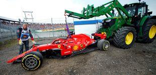 Post de La carta de Ferrari el día que se cumple el año 'maldito' de Sebastian Vettel