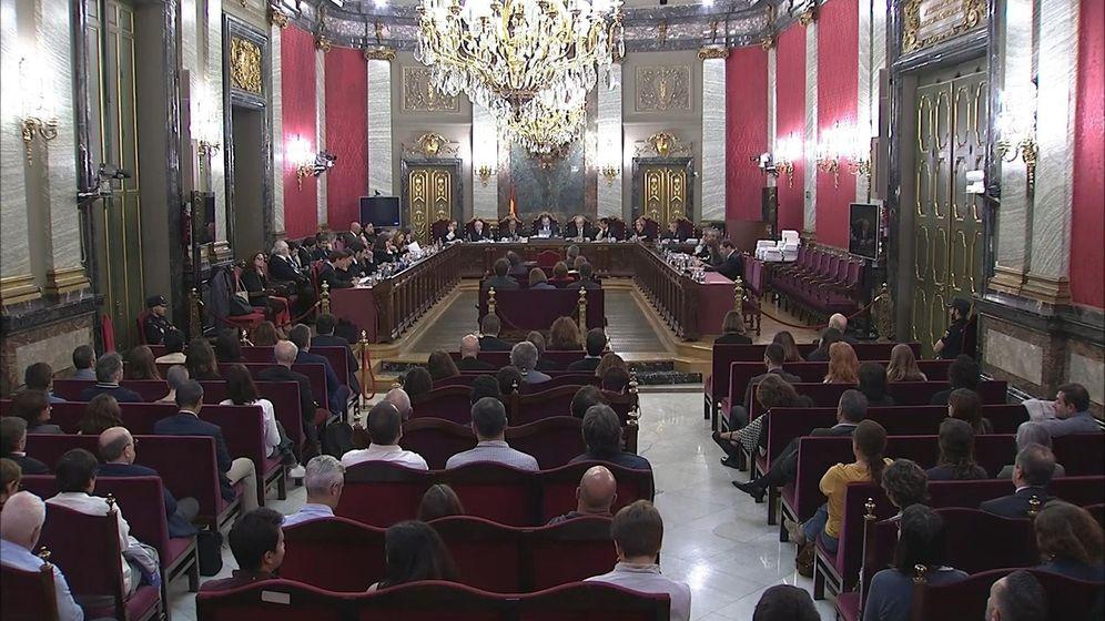 Foto:  Imagen tomada de la señal institucional del Tribunal Supremo. (EFE)
