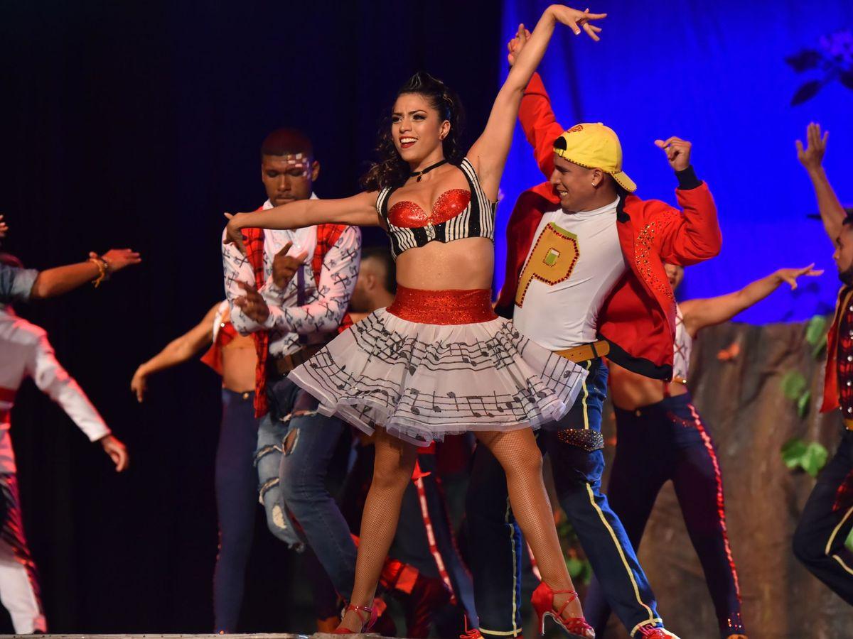 Foto: Espectaculo de salsa. Foto: EFE Fundación Delirio