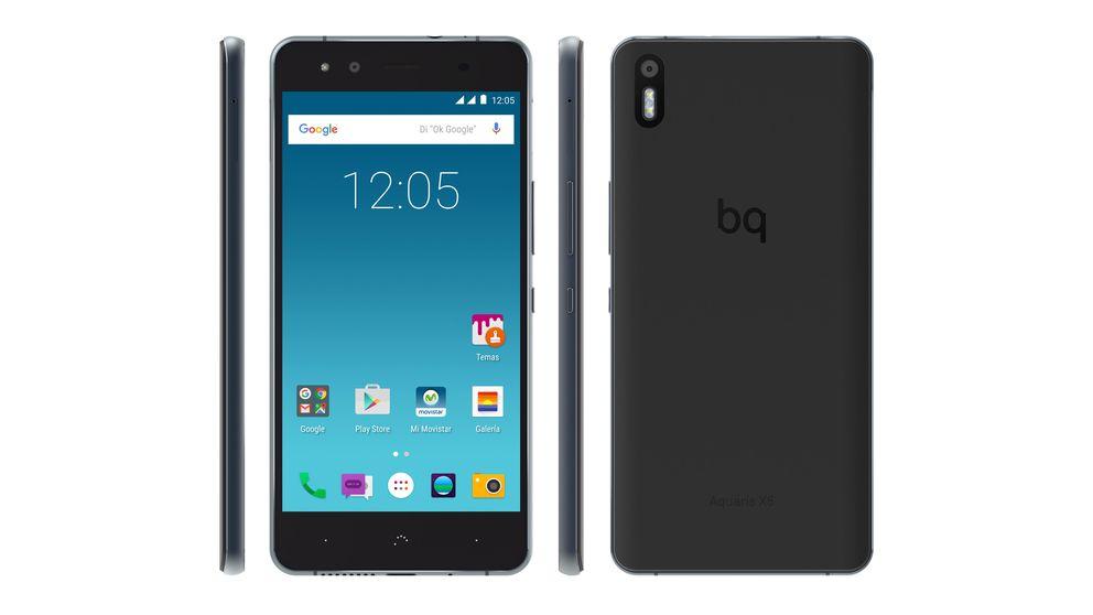 El nuevo 'smartphone' de Bq viene con sorpresa: sin Google (y con Telefónica)