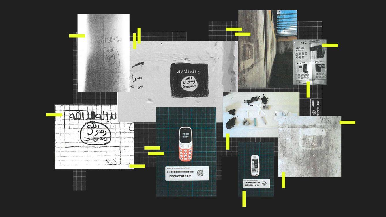Foto: 'Collage' de fotografías adjuntas como pruebas. (EC Diseño)