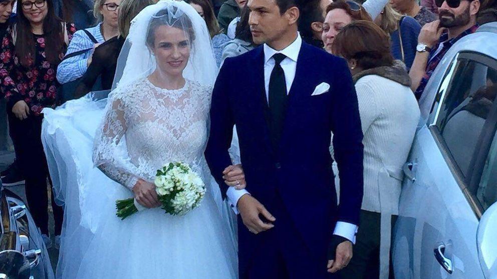 Primeras imágenes de la boda de Yeyes Manzanares y Guillaume Cazelle
