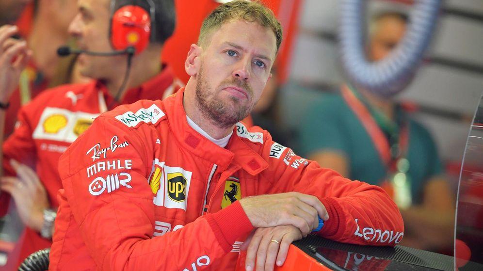 Foto: Sebastian Vettel, el pasado fin de semana en Hungaroring. (EFE)
