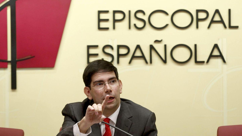 El director de la oficina de información de la Conferencia Episcopal,Isidro Catela (Efe)