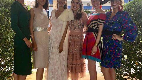 Por fin hubo duelo de estilo: Belén Corsini también fue a la boda de Valentina S. Zuloaga