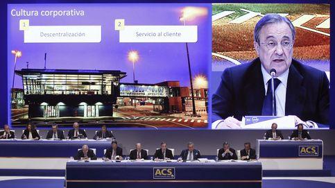 Florentino devuelve a ACS al dividendo en efectivo tras sanear sus cuentas