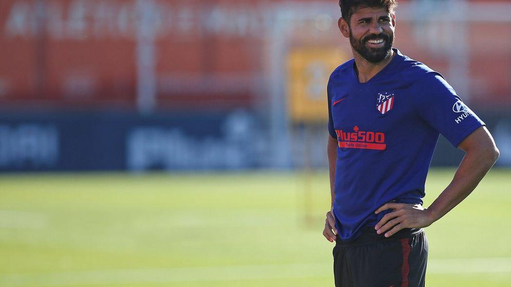 Foto: El futbolista del Atlético de Madrid Diego Costa. (EFE)