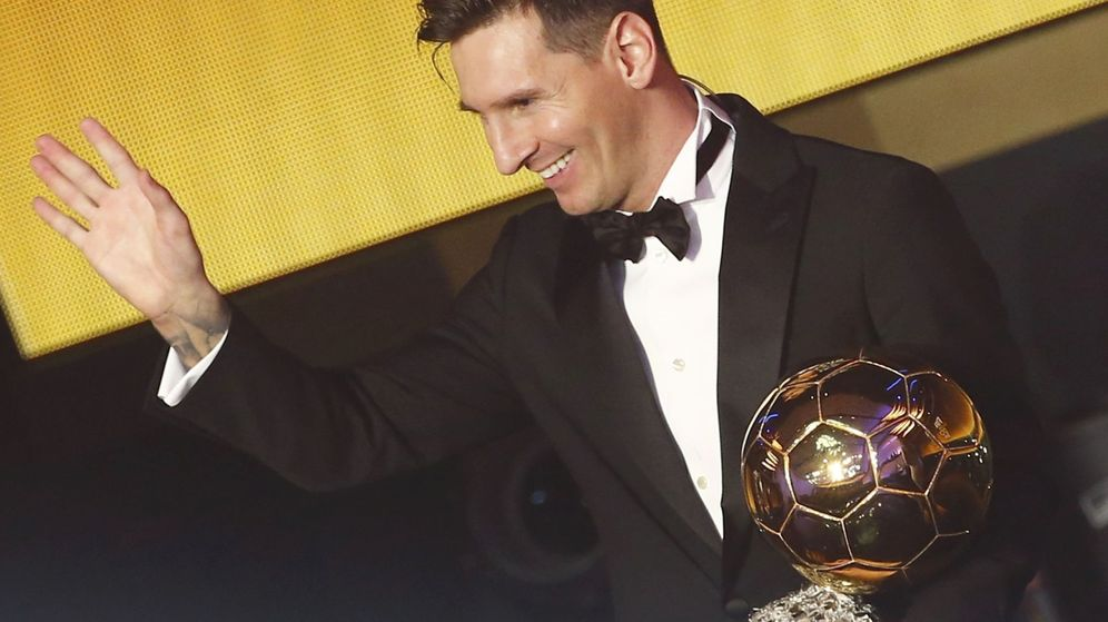 Foto: Leo Messi recoge el Balón de Oro en 2016. (Reuters)