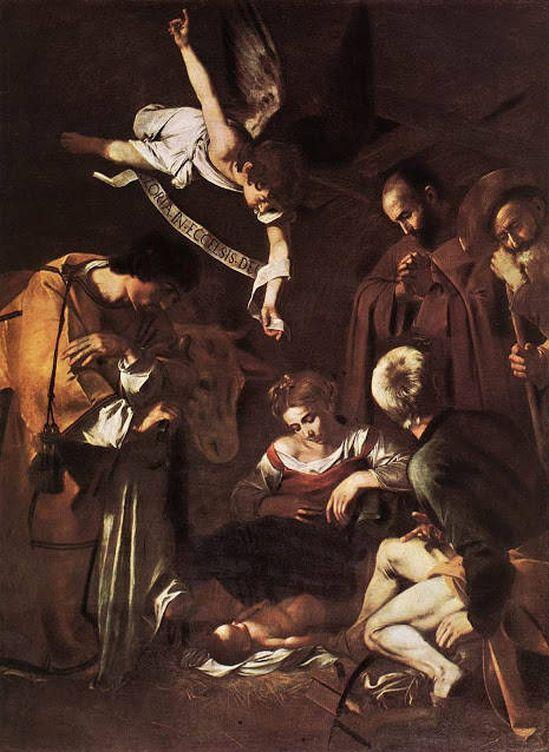 Foto: 'La Natividad', de Caravaggio