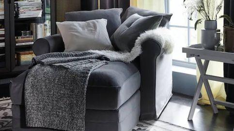 Convierte esta chaise longue de Ikea en el centro de tu rincón de descanso
