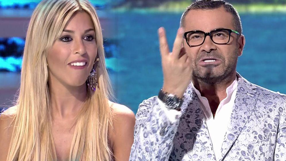 Foto: Jorge Javier Vázquez regaña a Oriana en 'Supervivientes'. (Mediaset España)