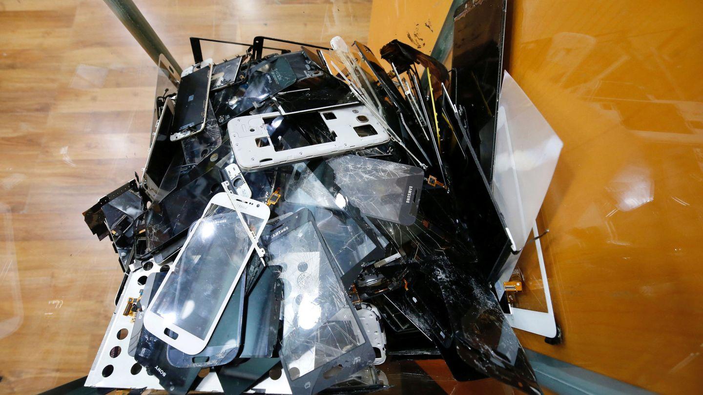 Se gestionaron un total de 59.154 toneladas de residuos electrónicos en España. Reuters