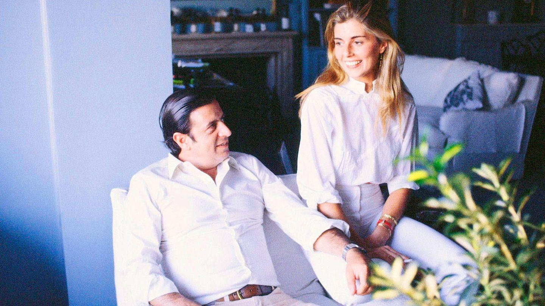 Marta Chávarri y Fernando Falcó. (Getty)
