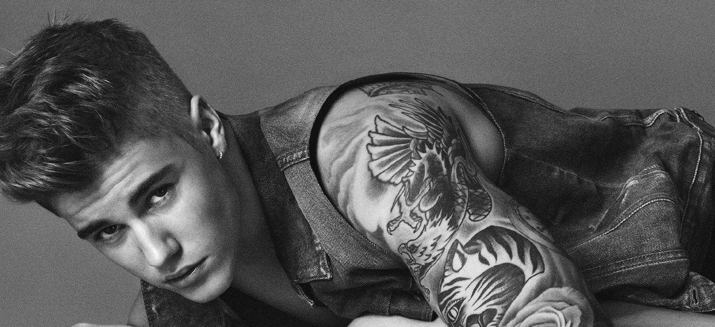 Foto: Justin Bieber, en la nueva campaña de Calvin Klein