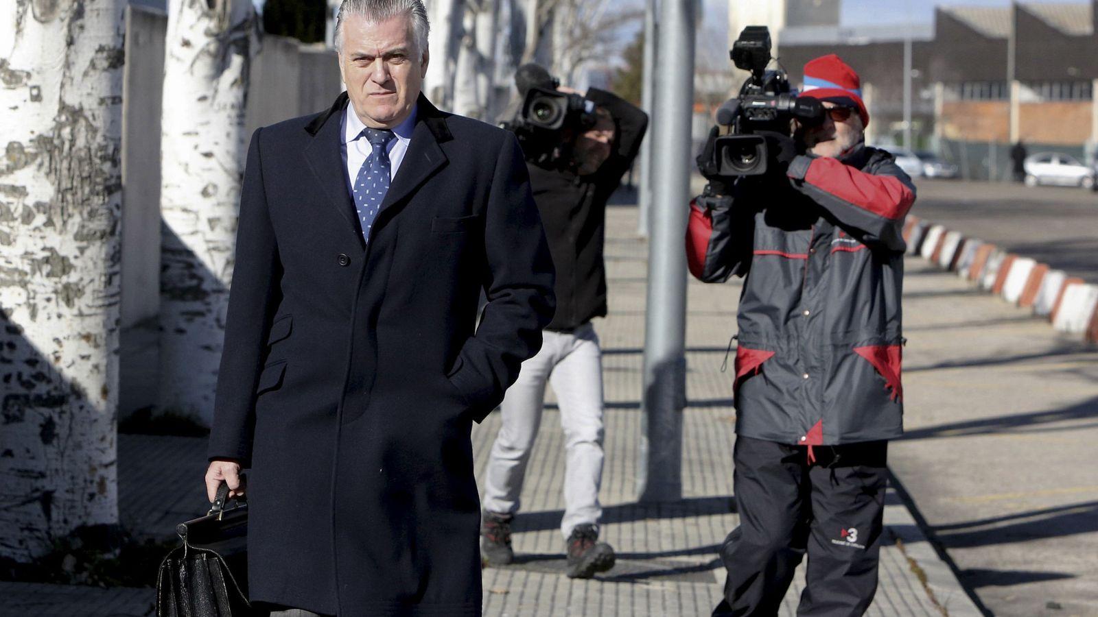 Foto: Luis Bárcenas, a su llegada a la Audiencia Nacional.