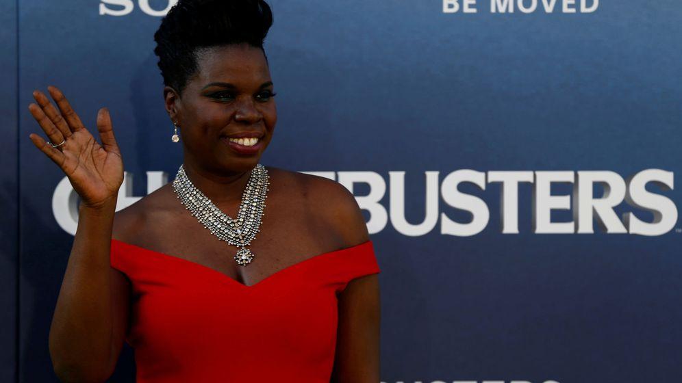 Foto: Leslie Jones, durante una premiere de 'Cazafantasmas'. (Reuters)