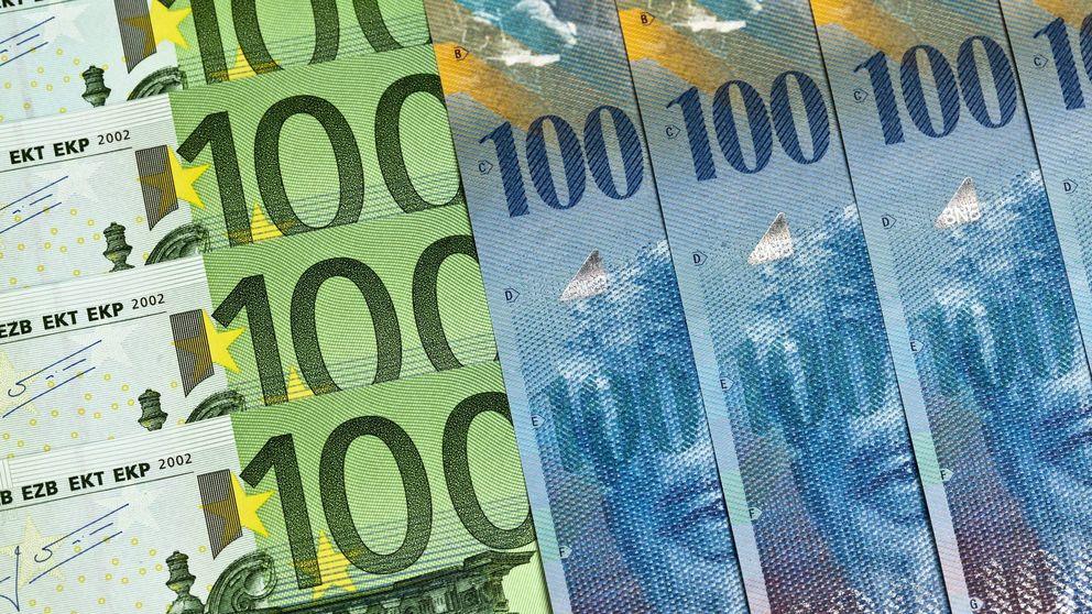 Suiza libera a su divisa y el dinero vuelve al refugio del franco