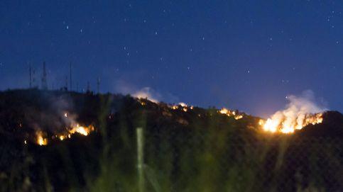 Logran frenar algunos frentes del incendio de Arroyo de San Serván (Badajoz)