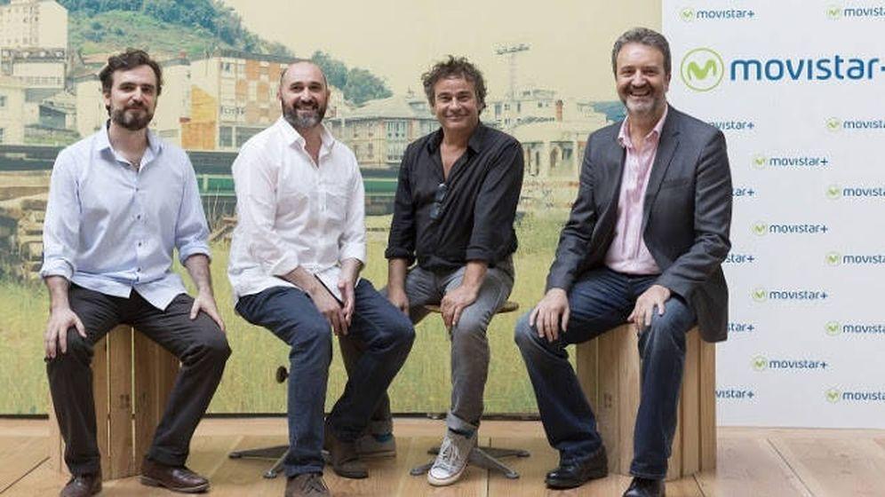 Foto: Presentación de 'La zona', la nueva serie de Movistar
