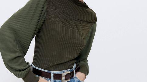 Uterqüe y el jersey de mangas plisadas que hemos declarado imprescindible para otoño