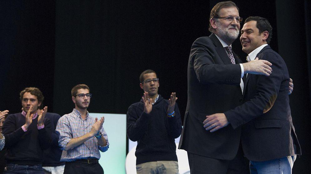 Foto: Rajoy y Moreno Bonilla (EFE)