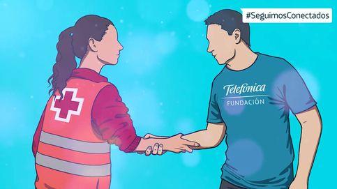 Fundación Telefónica dona 500.000 euros a Cruz Roja para ayudar a los más vulnerables
