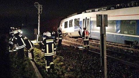 Al menos 50 heridos por un choque de trenes en Alemania