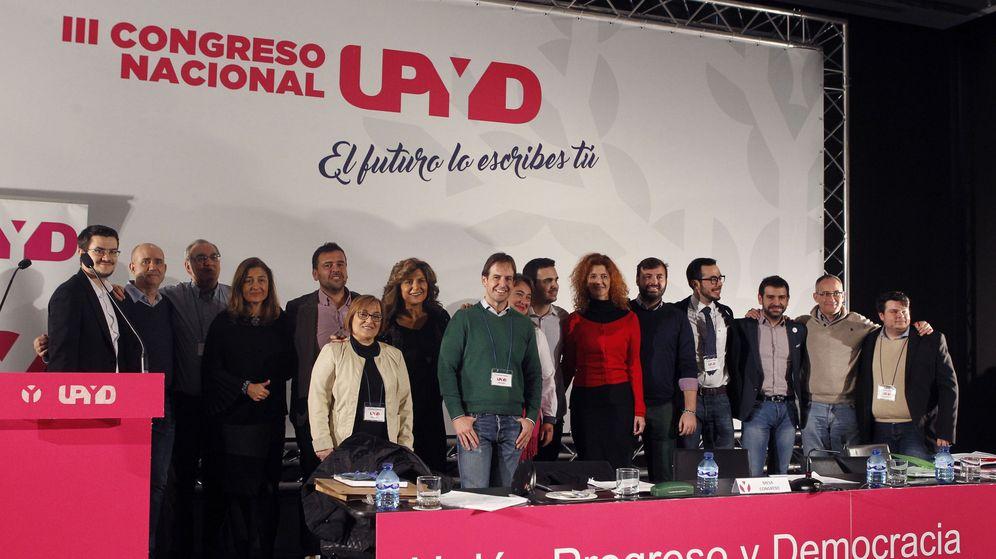 Foto: Los afiliados a Unión Progreso y Democracia (UPyD) eligieron a Cristiano Brown como líder. (EFE)