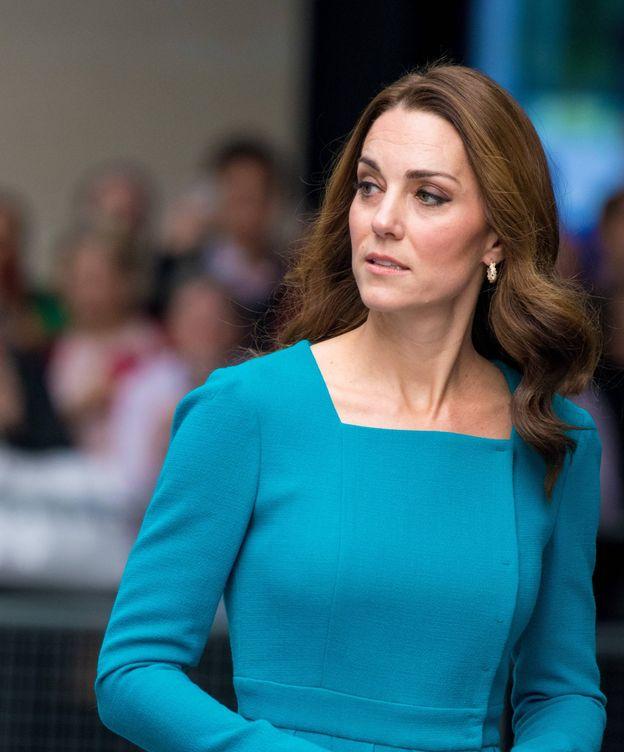 Foto: La duquesa durante su visita a la BBC. (Cordon Press)