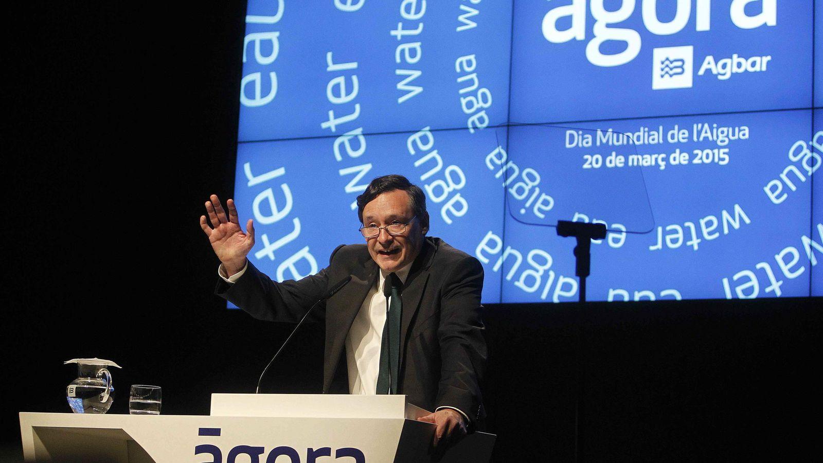 Foto:  El presidente ejecutivo de AGBAR, Angel Simón. (EFE)