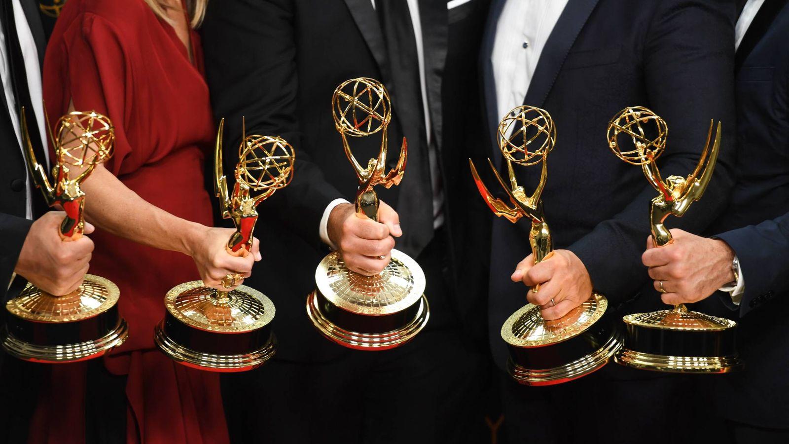 Foto: Imagen de archivo de una ceremonia de los Emmy.