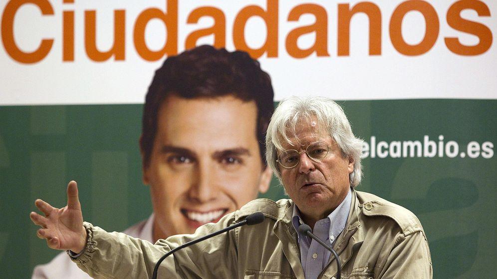 Foto: El eurodiputado Javier Nart se da de baja como afiliado de Ciudadanos. (EFE)